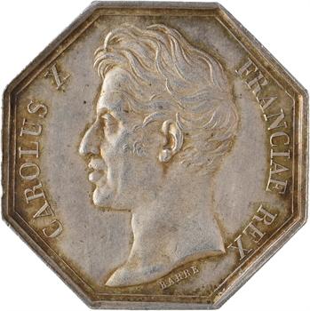 Charles X, Chambre de commerce de Bordeaux, par Barre, 1826 Paris