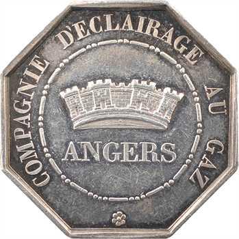Louis-Philippe Ier, éclairage au gaz d'Angers, s.d. Paris
