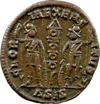 Constans, nummus, Siscia, 335-336