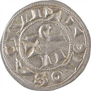 Toulouse (évêché et comté de), Guillaume IV ou Guillaume IX, denier, s.d. (1098-1127) Toulouse