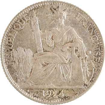 Indochine, 20 centièmes, 1924 Paris