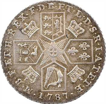 Grande Bretagne, Georges III, shilling, 1787 Londres