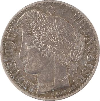 IIe République, 50 centimes Cérès, 1850 Paris