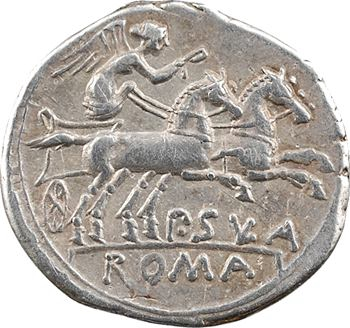 Cornelia, denier, Rome, 151 av. J.-C.