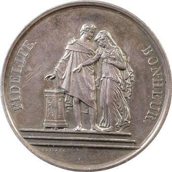 Mariage : A. G. Magné et M. C. Berthe par Petit, 1871,
