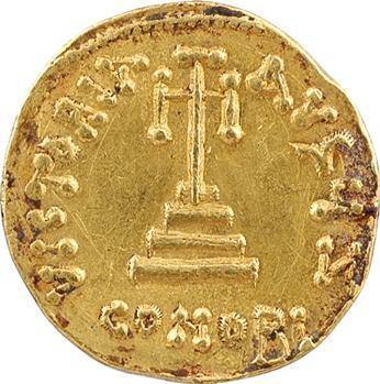 Constant II et Constantin IV, solidus, Constantinople, 7e officine, 654-659