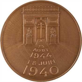 Ve République, le général De Gaulle et la libération de Paris, 1945 (1970) Paris