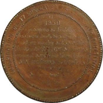 IIe République, loi du suffrage restreint, 1850 Paris