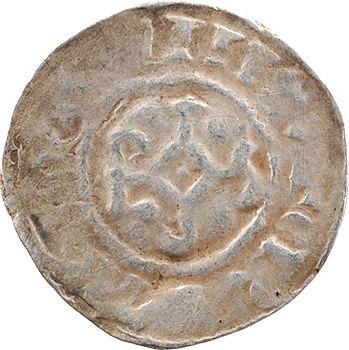 Metz (ville de), Otton II, denier au temple, s.d. (977/978-983) Metz