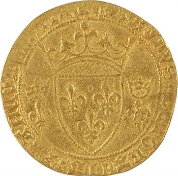 Charles VII, écu d'or à la couronne 3e type, 2e émission, Montpellier
