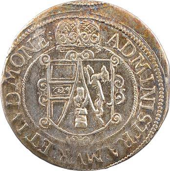Alsace, Murbach et Lure (abbaye de), Léopold d'Autriche, quart de thaler non daté, s.d. (1614-1625) Ensisheim