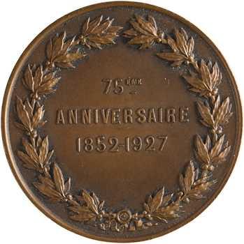 Compagnie des Messageries Maritimes, 75e anniversaire, par Barre, 1852-1927 Paris