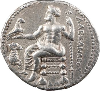 Macédoine, Alexandre le Grand, tétradrachme, Damas (Syrie), c.330-320 av. J.-C