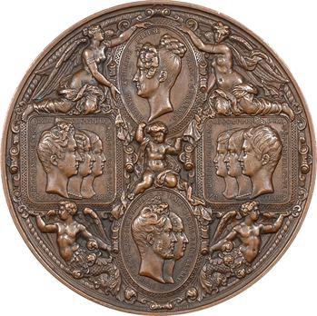 Louis Philippe Ier, la famille royale visite la Monnaie de Paris, 1833 Paris