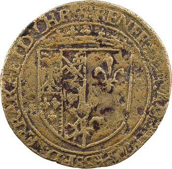 Bretagne, Chartres, Gisors, Montargis et Ferrare, Renée de France, jeton de compte, s.d. (c.1550-1570)