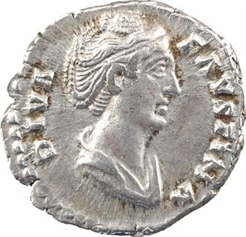 Divine Faustine Mère, denier, Rome, 141-146