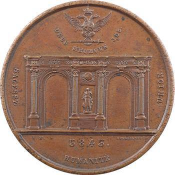 Grand Orient de France, inauguration du Temple, 1843 Paris
