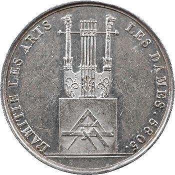 Louis XVIII, Orient de Paris, loge d'Anacréon, 5805-5818 Paris