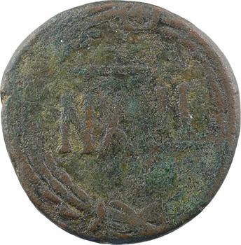 Vandales, monnayage semi-autonome sous Genséric, 42 nummi, Carthage, c.480-533