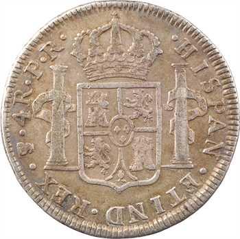 Bolivie, Charles III, 4 réaux, 1778 Potosi