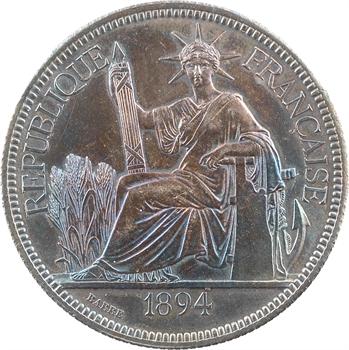 Indochine, 1 piastre, 1894 Paris