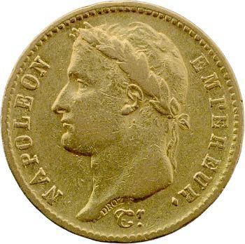 Premier Empire, 20 francs Empire, 1813 Utrecht