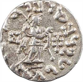 Royaume Indo-Scythe, Azès II, drachme (Pallas), c.30 av. J.-C.-20 av. J.-C. Taxila Sirsukh