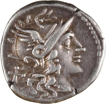 Maiania, denier, Rome, 153 av. J.-C