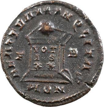 Crispus, nummus, Londres, 323-324