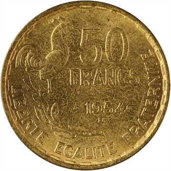 IVe République, 50 francs Guiraud, 1954 Beaumont-le-Roger