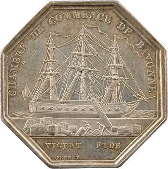 Louis-Philippe Ier, Chambre de Commerce de Bayonne, par Barre et Brenet, s.d. Paris
