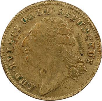 Convention, la mort de Louis XVI, 1793 Nuremberg