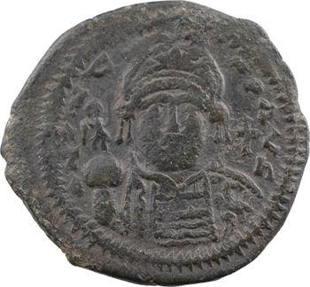 Justin II, follis type 1, Théoupolis (Antioche), 3e officine, An II =566-567