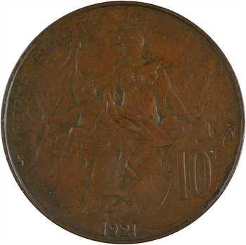 IIIe République, 10 centimes Daniel-Dupuis, 1921 Paris