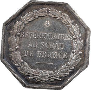 IIIe République, référendaires au sceau de France, s.d. Paris