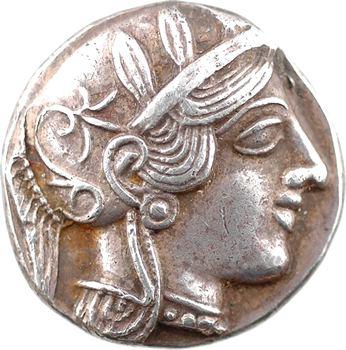 Attique, Athènes, tétradrachme, c.480-400 av. J.-C.