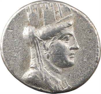 Phénicie, Arade, tétradrachme, An 197 = 63-62 av. J.-C