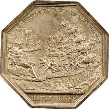 Louis XVIII, approvisionnement de Paris en bois flottés de la Haute Yonne, s.d
