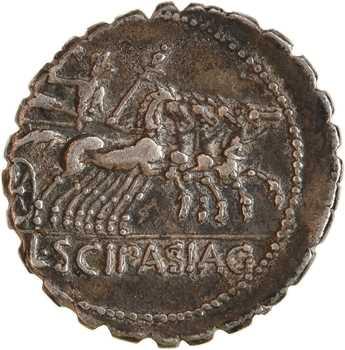 Cornelia, denier serratus, Rome, 106 av. J.-C