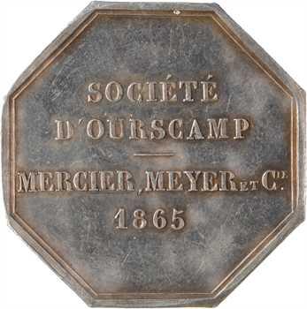 Second Empire, la Société d'Ourscamp, Mercier, Meyer et Cie, 1865 Paris