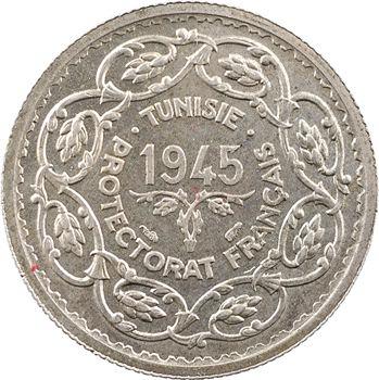 Tunisie (Protectorat français), Mohamed Lamine, 10 francs, 1945 Paris