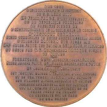 La Baule : fondation de l'institut Verneuil de la Baule, 1895