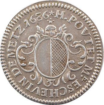 Lorraine, Metz (ville de), H. Poutet, échevin, 1686