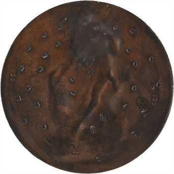 Lagrange (J.) : Milon de Crotone d'après Puget, épreuve, 1873 Paris