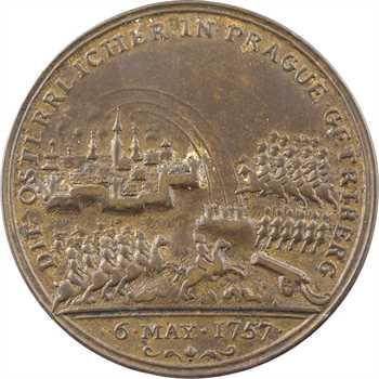 Allemagne, Prusse, Frédéric II, la bataille de Prague, 1757