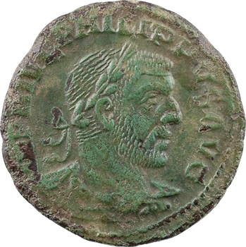 Moésie supérieure, Viminacium, Philippe Ier, sesterce, An VIII (248)