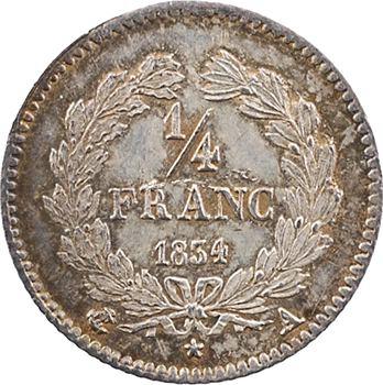 Louis-Philippe Ier, 1/4 franc, 1834 Paris