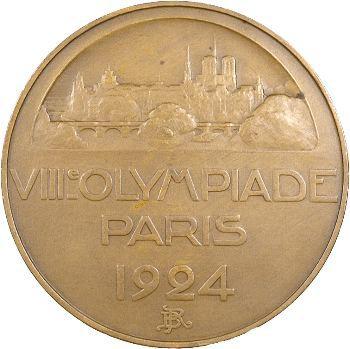 Bénard (R.) : VIIIe Olympiade de Paris, 1924 Paris