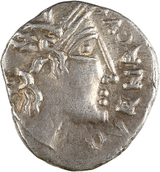 Voconces et Vallée du Rhône, denier au cavalier, DVRNACVS/DONNVS, c.75 av. J.-C