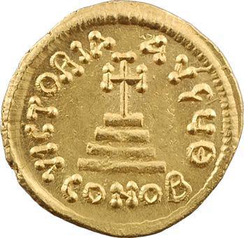 Héraclius et Héraclius Constantin, solidus, Constantinople, 9e officine, 613-629